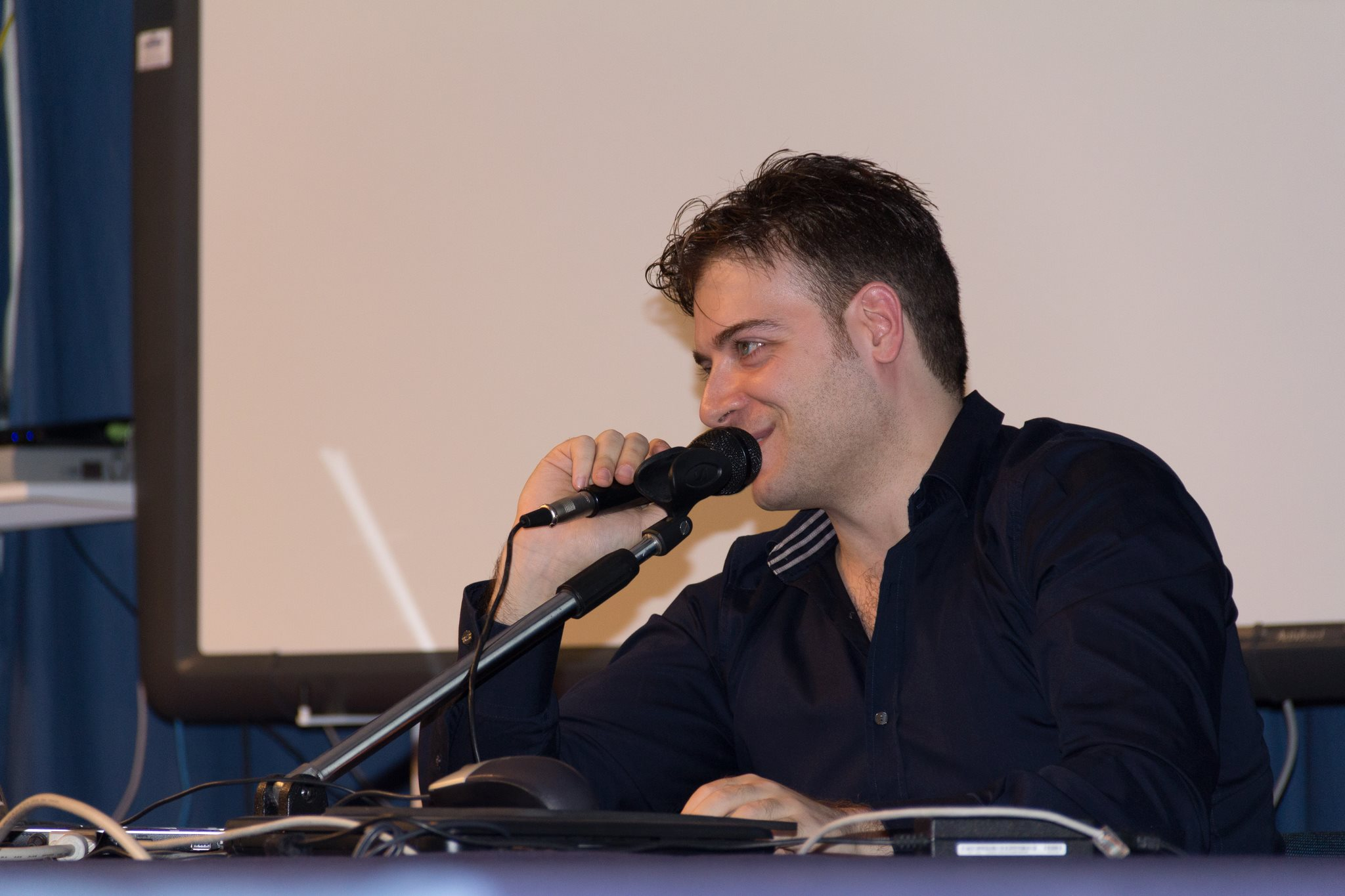 marco ferrigno speaker al linux day